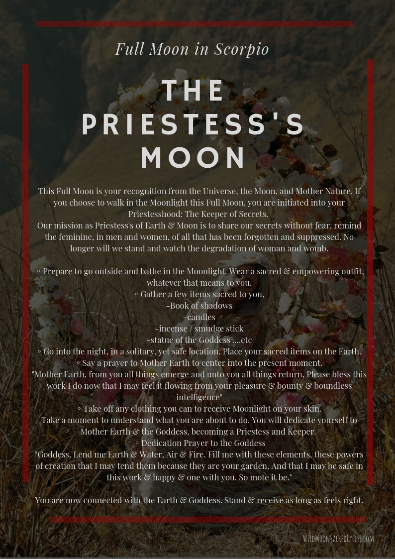 the priestess's moon